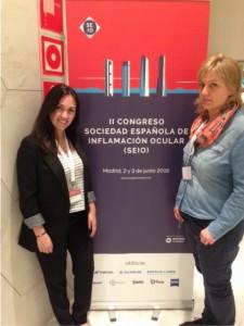 Silvia Matrai y Raquel Ibañez, de la asociación AUVEA