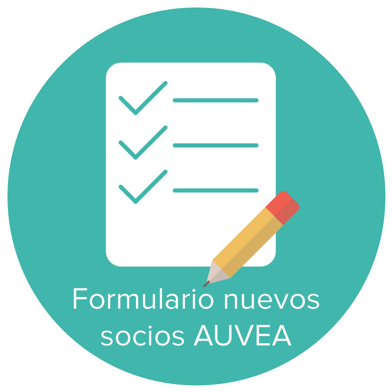 FORMULARIO NUEVOS SOCIOS AUVEA